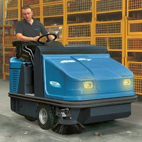 Fimap FS110 Diesel Ride-on Sweeper