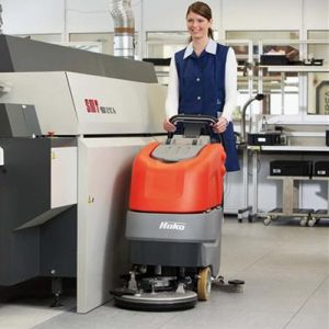 Hako Scrubmaster B30 Refurbished Battery Scrubber Dryer