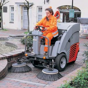Hako City Master 90 Refurbished Diesel Ride-on Vacuum Sweeper