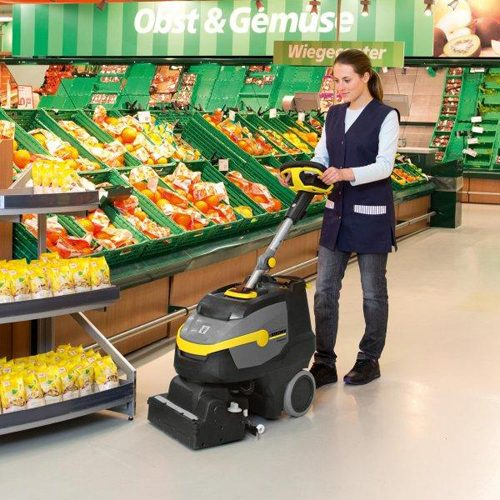 Karcher BR35/12C Refurbished Battery Scrubber Dryer