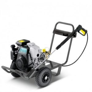 The Karcher HD 830, a powerful industrial petrol pressure washer is available to hire, buy new, used or refurbished jet wash. High pressure cleaners can be used for various applications including Vehicle cleaning, Equipment and machinery cleaning, Workshop cleaning, Service station cleaning, Facade cleaning, Swimming pool cleaning, Cleaning production systems, Cleaning in production processes, Cleaning of sports facilities. You can hire industrial pressure washers and hire commercial petrol jet wash or why not buy industrial pressure washers or buy new, used or refurbished commercial jet washes for sale.