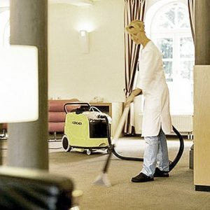 The Karcher Puzzi 400 carpet extraction cleaner is available to hire and buy from Cleaning Equipment Services Ltd. If you wish to buy a carpet extraction cleaner or even hire a carpet extraction cleaner then the Puzzi 400 is ideal for large commercial and industrial areas such as nursing homes, hospitals, hotels, offices, shops and many other carpeted areas. The upholstery tool can be used on car and van vehicle seats, chairs, curtains etc.