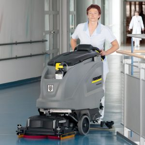Karcher b80 d65 battery floor scrubber dryer