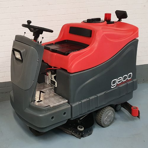 Mac Geco 820RB Refurbished Ride On Battery Scrubber Dryer
