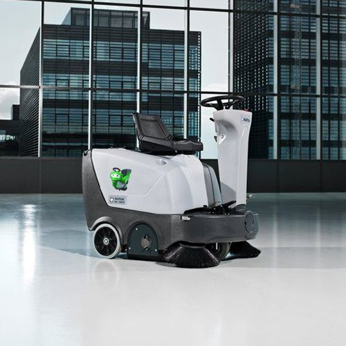 Nilfisk SR1000S ride-on sweeper airport cleaning machine
