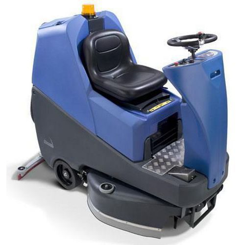 Numatic TRO 650 Refurbished Ride-On Battery Scrubber Dryer