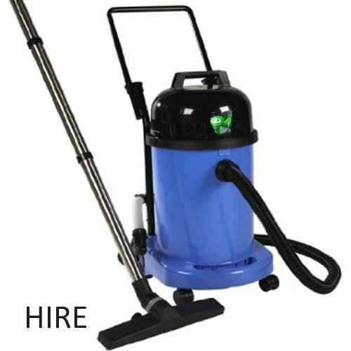 Numatic WV470-2 Wet Vacuum Cleaner Hire. Small commercial wet vacuum cleaner available for hire. Ideal for shops, offices, restaurants and home etc. Rent a wet vacuum cleaner today