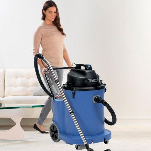 Numatic WVD 1800 AP wet vacuum cleaner available to hire or buy. If you need a wet vacuum cleaner hire or to buy a wet vacuum cleaner with a submersible pump for continuous discharge for bulk liquid such as salvage work, flood damage, flat roofing, fire services and the like the WVD 1800 AP is a great commercial and industrial wet and dry vacuum cleaner. Buy a wet vacuum cleaner or hire today.