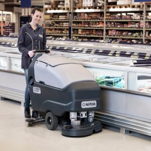 Nilfisk SC800-71 New Battery Scrubber Dryer