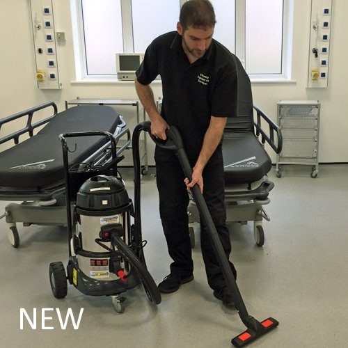 Steam Clean Systems SC2000T New Commercial Steam And Vacuum Cleaner On Trolley