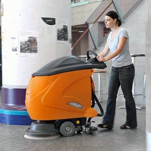 Taski Swingo 750B battery scrubber dryer