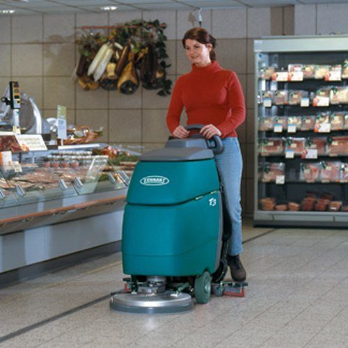 Tennant T3-43 battery scrubber dryer