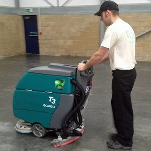 Tennant T3 Refurbished Battery Powered Scrubber Dryer