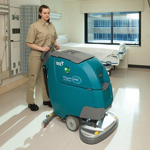 Tennant T300 New Battery Scrubber Dryer Cleaning