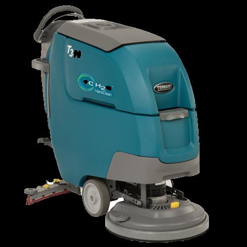 Tennant T300 battery scrubber dryer