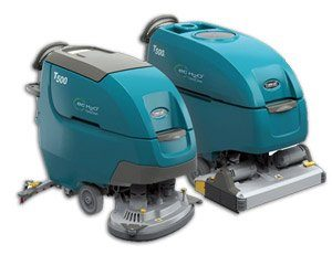 Tennant T500 65d New Battery Scrubber Dryer Cleaning