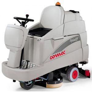 Comac Tripla 75 11 Refurbished Ride On Battery Scrubber Dryer