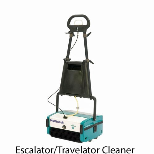 Truvox Multiwash MW340 Pump ESC Escalator and Travelator cleaning machine deep cleans the surfaces of the escalators and travelators. This machine washes and dries the escalator in a single pass. Suitable for shopping centres, fitness centres, shopping malls, airports, in fact anywhere that may need to buy a new, used or refurbished escalator cleaner or buy a new, used or refurbished travelator cleaner.
