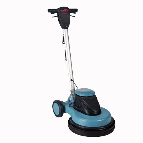 how to use a rotary floor polisher