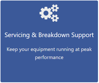Servicing and Breakdown Support