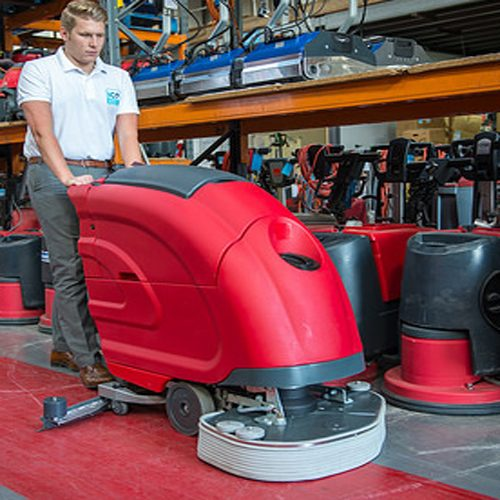 comac media 65bt scrubber dryer