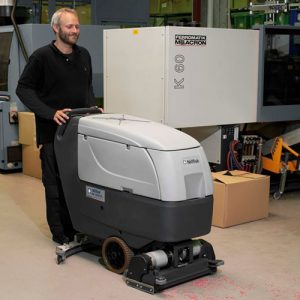 nilfisk ba551CD cylindrical Battery Scrubber dryer